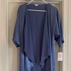 NWT LulaRoe Shirley Blue Small
